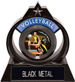 """Hasty Awards Eclipse 6"""" P.R.1 Volleyball Trophy"""