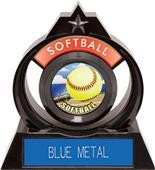 "Hasty Awards Eclipse 6"" HD Softball Trophy"
