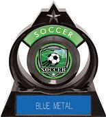 "Hasty Awards Eclipse 6"" Shield Soccer Trophy"