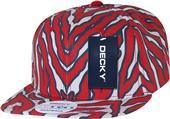 Decky Ziger Solid 6-panel Snapback Caps