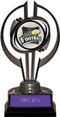 "Black Hurricane 7"" Xtreme Football Trophy"