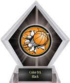 Bust-Out Basketball Black Diamond Ice Trophy
