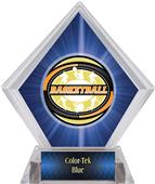 Award Classic Basketball Blue Diamond Ice Trophy