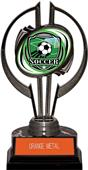 "Awards Black Hurricane 7"" Shield Soccer Trophy"