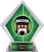 Patriot Soccer Green Diamond Ice Trophy