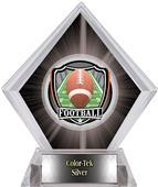 Shield Football Black Diamond Ice Trophy