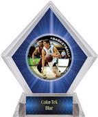 P.R. Male Basketball Blue Diamond Ice Trophy