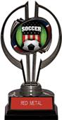"Awards Black Hurricane 7"" Patriot Soccer Trophy"