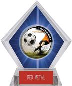 Awards P.R. Male Soccer Blue Diamond Ice Trophy