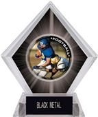 PR2 Football Black Diamond Ice Trophy