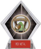 ProSport Football Black Diamond Ice Trophy
