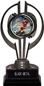 "Awards Black Hurricane 7"" PR Female Soccer Trophy"