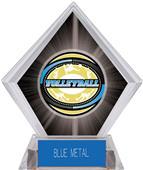 Awards Classic Volleyball Black Diamond Ice Trophy
