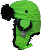 Decky Black Fur Aviator Hats