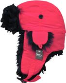 Decky Black Fur Aviator Hats