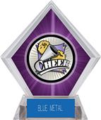 Hasty Award Xtreme Cheer Purple Diamond Ice Trophy