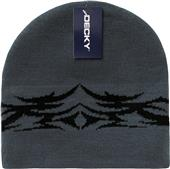 Decky Tribal Short Beanies