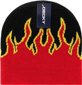 Decky Flame Pattern Fire Beanies
