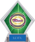 Awards Classic Cheer Green Diamond Ice Trophy