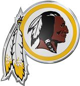 NFL Washington Redskins Color Team Emblem