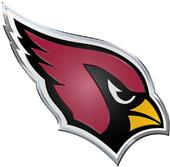 NFL Arizona Cardinals Color Team Emblem