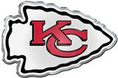 NFL Kansas City Chiefs Color Team Emblem