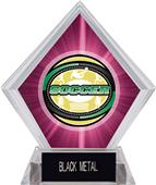Awards Classic Soccer Pink Diamond Ice Trophy