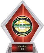 Awards Classic Soccer Red Diamond Ice Trophy