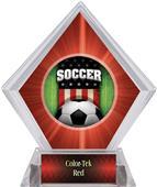 Awards Patriot Soccer Red Diamond Ice Trophy