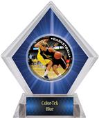P.R. Female Basketball Blue Diamond Ice Trophy