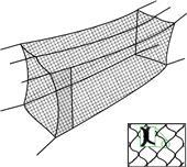 Cimarron Sports Braided #51 Batting Cage Nets