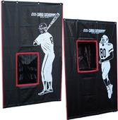 Cimarron Sports 2-Sport Catcher Vinyl Backstop