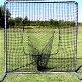 Baseball 7x7 #42 Sock Net & Commercial Frame