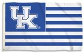 COLLEGIATE Kentucky Stripes 3' x 5' Flag w/Grommet