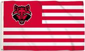 COLLEGIATE Arkansas State Stripes 3' x 5' Flag