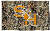 COLLEGIATE Sam Houston Camo 3' x 5' Flag w/Grommet