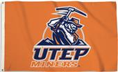 COLLEGIATE UTEP-Orange 3' x 5' Flag w/Grommets