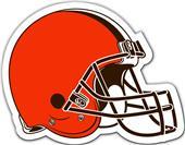 """NFL Cleveland Browns 12"""" Vinyl Car Magnet"""