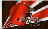 NFL Cleveland Browns Helmet 3' x 5' Flag