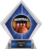 Awards Patriot Basketball Blue Diamond Ice Trophy