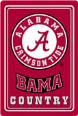 "COLLEGIATE Alabama 12""x18"" Metal Sign"
