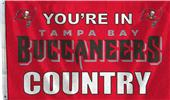 NFL Tampa Bay Buccaneers Country 3' x 5' Flag