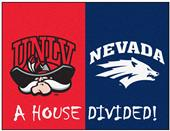 Fan Mats UNLV/Nevada House Divided Mat