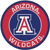 Fan Mats University of Arizona Roundel Mat