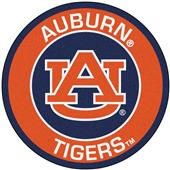Fan Mats Auburn University Roundel Mat