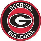 Fan Mats University of Georgia Roundel Mat