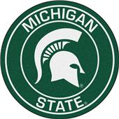 Fan Mats Michigan State University Roundel Mat