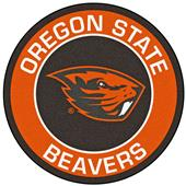 Fan Mats Oregon State University Roundel Mat