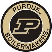 Fan Mats Purdue University Roundel Mat