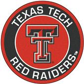 Fan Mats Texas Tech University Roundel Mat